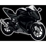 Наклейка Мотоцикл-139, фото 1