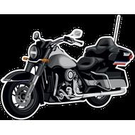 Наклейка Мотоцикл-140, фото 1