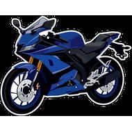 Наклейка Мотоцикл-141, фото 1