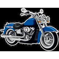 Наклейка Мотоцикл-145, фото 1