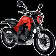 Наклейка Мотоцикл-148, фото 1