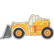 Наклейка Трактор, фото 1
