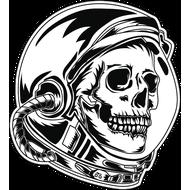 Наклейка Мертвый космонавт, фото 1
