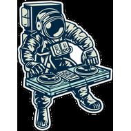 Наклейка Космический DJ, фото 1