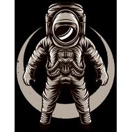 Наклейка Космонавт в открытом космосе, фото 1