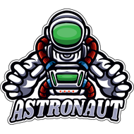 Наклейка Astronaut, фото 1