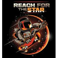 Наклейка Reach for the star, фото 1
