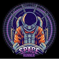 Наклейка Space runner, фото 1