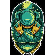 Наклейка В космосе круто, фото 1
