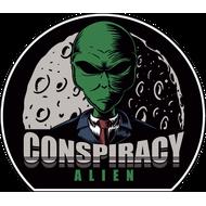 Наклейка Conspiracy Alien, фото 1