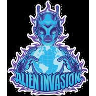 Наклейка Alien Invasion, фото 1