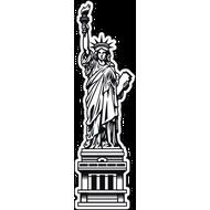 Наклейка Статуя свободы, фото 1