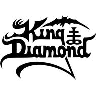 Наклейка King Diamond, фото 1
