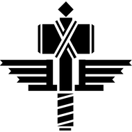 Наклейка Manowar Hammer, фото 1