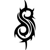 Наклейка Slipknot, фото 1