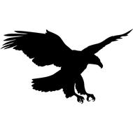 Наклейка Орел-090, фото 1