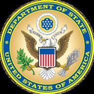 Наклейка Большая гербовая печать США, фото 1