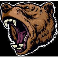 Наклейка Медведь-126, фото 1