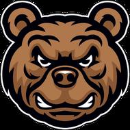 Наклейка Медведь-127, фото 1
