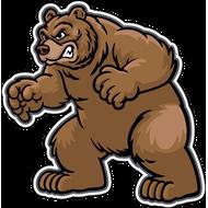 Наклейка Медведь-129, фото 1