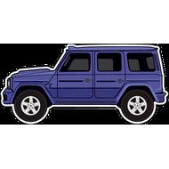 Наклейка Автомобиль-108, фото 1
