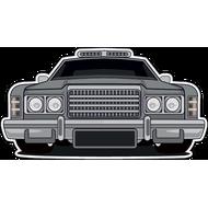 Наклейка Автомобиль-111, фото 1