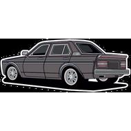 Наклейка Автомобиль-112, фото 1