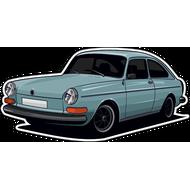 Наклейка Автомобиль-120, фото 1
