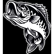 Наклейка Рыба-033, фото 1