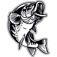 Наклейка Рыба-035, фото 1