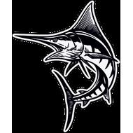 Наклейка Рыба-039, фото 1