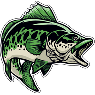 Наклейка Рыба-042, фото 1