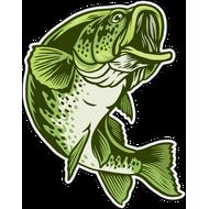 Наклейка Рыба-043, фото 1