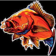 Наклейка Рыба-046, фото 1