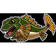 Наклейка Рыба-048, фото 1