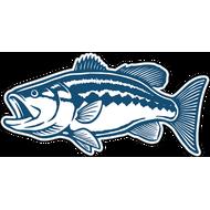 Наклейка Рыба-052, фото 1
