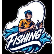 Наклейка Рыбак-042, фото 1