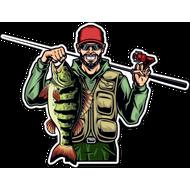 Наклейка Рыбак-055, фото 1