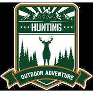 Наклейка Hunting, фото 1