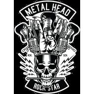 Наклейка MetalHead, фото 1