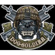 Наклейка Dog Soldier, фото 1