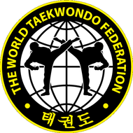 Наклейка The World Taekwondo Federation, фото 1