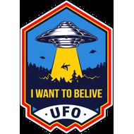 Наклейка I Want To Belive, фото 1