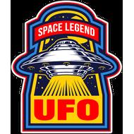 Наклейка UFO Space Legend, фото 1