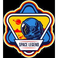 Наклейка Space Legend, фото 1