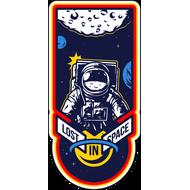 Наклейка Lost in Space, фото 1