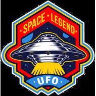 Наклейка Space Legend UFO, фото 1