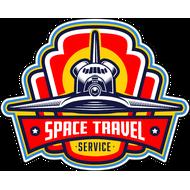 Наклейка Space Travel, фото 1