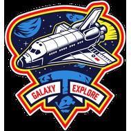 Наклейка Galaxy Explore, фото 1