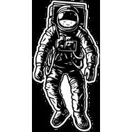 Наклейка Космонавт, фото 1